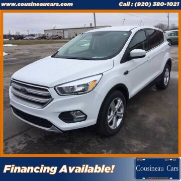 2017 Ford Escape for sale at CousineauCars.com in Appleton WI