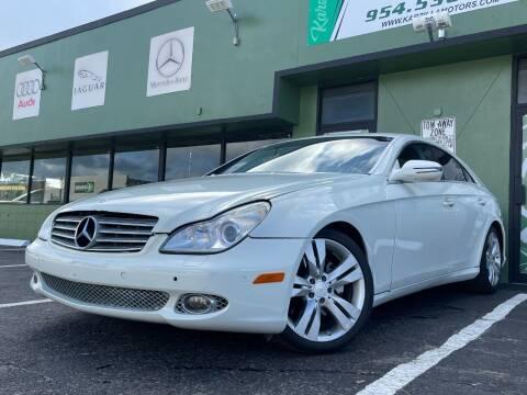2009 Mercedes-Benz CLS for sale at KARZILLA MOTORS in Oakland Park FL
