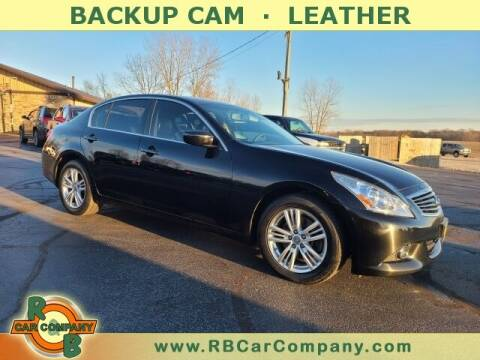 2013 Infiniti G37 Sedan for sale at R & B CAR CO - R&B CAR COMPANY in Columbia City IN