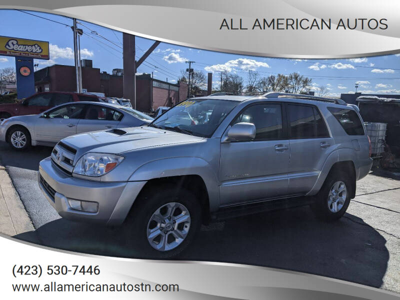 2004 Toyota 4Runner for sale at All American Autos in Kingsport TN
