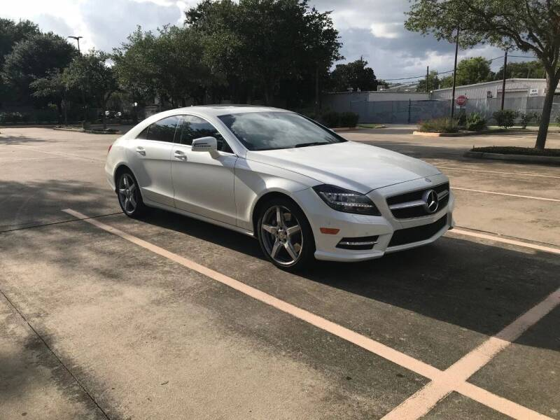 2014 Mercedes-Benz CLS for sale at Mid-Town Auto in Houston TX