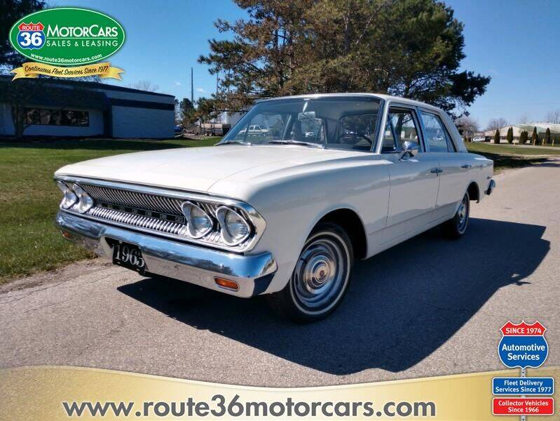 1963 RAMBLER 550 for sale at ROUTE 36 MOTORCARS in Dublin OH
