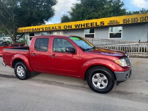 2010 Nissan Frontier for sale at DAN'S DEALS ON WHEELS in Davie FL