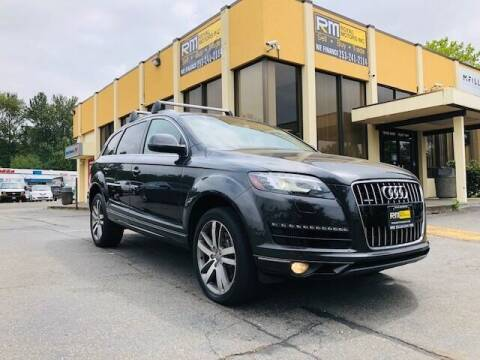2011 Audi Q7 for sale at Royal Motors Inc in Kent WA