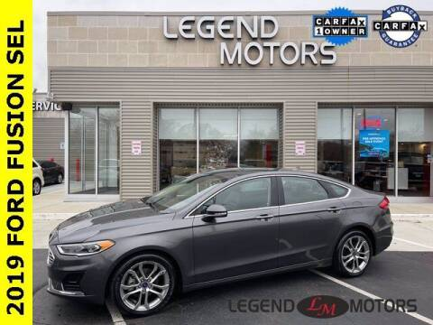 2019 Ford Fusion for sale at Legend Motors of Waterford in Waterford MI