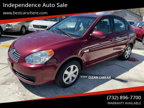 2007 Hyundai Accent for sale at Independence Auto Sale in Bordentown NJ
