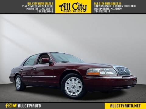 2005 Mercury Grand Marquis for sale at All City Auto Sales in Indian Trail NC