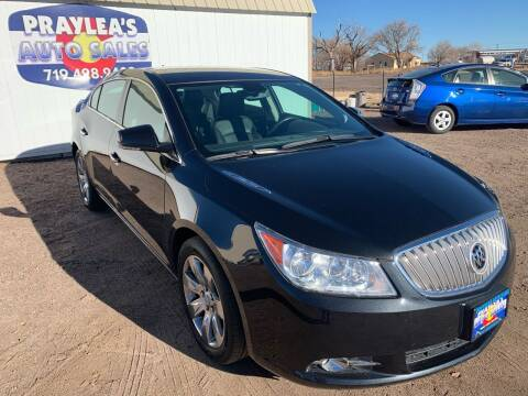 2012 Buick LaCrosse for sale at Praylea's Auto Sales in Peyton CO