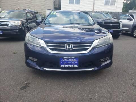 2013 Honda Accord for sale at JFC Motors Inc. in Newark NJ