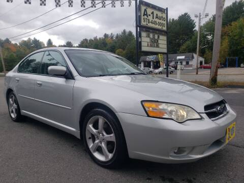 2006 Subaru Legacy for sale at A-1 Auto in Pepperell MA