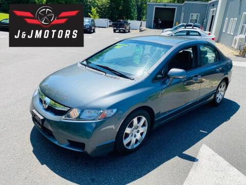 2009 Honda Civic for sale at J & J MOTORS in New Milford CT