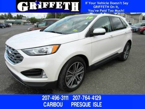2019 Ford Edge for sale at Griffeth Mitsubishi - Pre-owned in Caribou ME