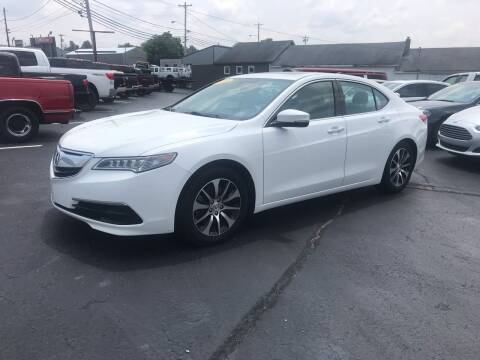 2015 Acura TLX for sale at Blue Bird Motors in Crossville TN