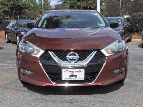 2016 Nissan Maxima for sale at Auto Finance of Raleigh in Raleigh NC