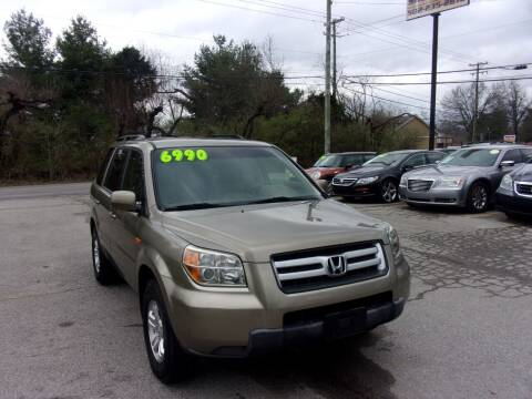 2008 Honda Pilot for sale at Auto Sales Sheila, Inc in Louisville KY