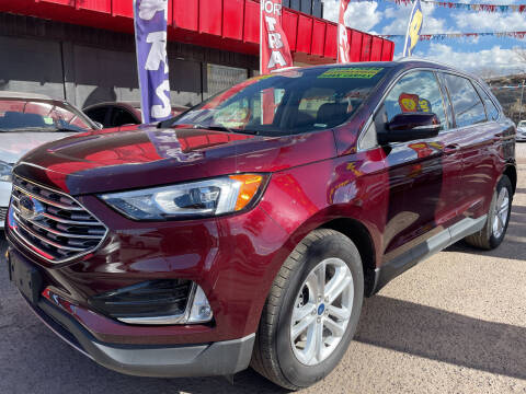 2020 Ford Edge for sale at Duke City Auto LLC in Gallup NM