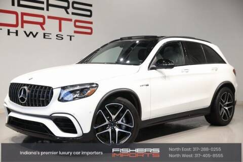 2018 Mercedes-Benz GLC for sale at Fishers Imports in Fishers IN
