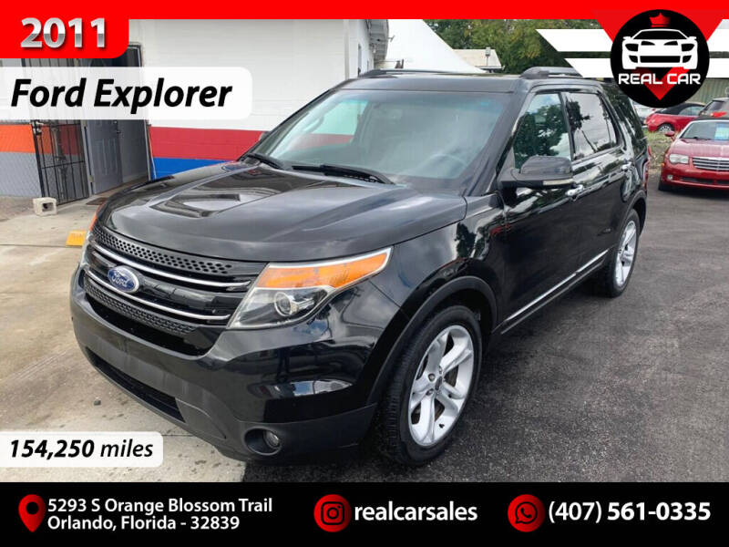 2011 Ford Explorer for sale at Real Car Sales in Orlando FL