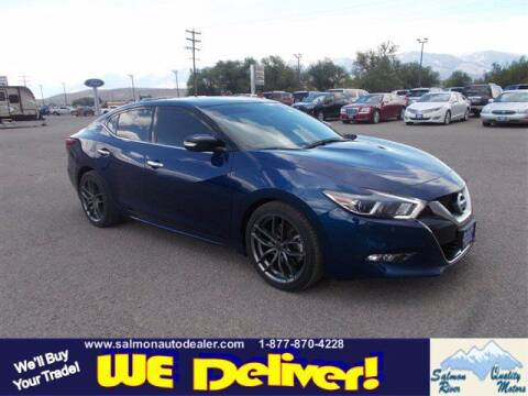 2017 Nissan Maxima for sale at QUALITY MOTORS in Salmon ID