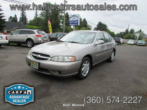 2001 Nissan Altima for sale at Hall Motors LLC in Vancouver WA
