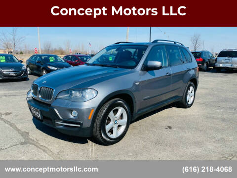 2009 BMW X5 for sale at Concept Motors LLC in Holland MI