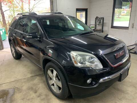 2011 GMC Acadia for sale at QUINN'S AUTOMOTIVE in Leominster MA