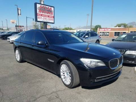 2012 BMW 7 Series for sale at ATLAS MOTORS INC in Salt Lake City UT
