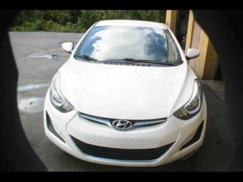 2015 Hyundai Elantra for sale at Persing Inc in Allentown PA