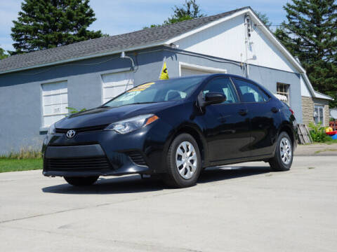 2014 Toyota Corolla for sale at Royal AutoTec in Springfield MI