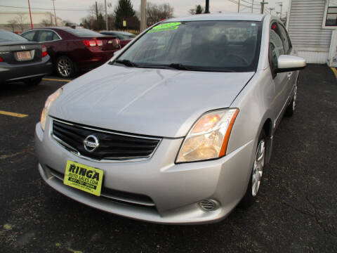 2012 Nissan Sentra for sale at Ringa Auto Sales in Arlington Heights IL