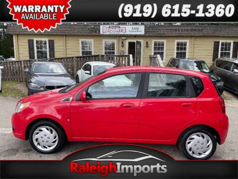 2009 Chevrolet Aveo for sale at Raleigh Imports in Raleigh NC