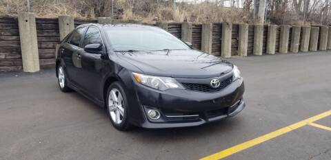 2012 Toyota Camry for sale at U.S. Auto Group in Chicago IL