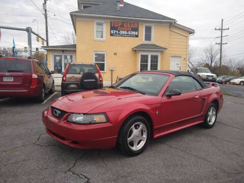 2001 Ford Mustang for sale at Top Gear Motors in Winchester VA