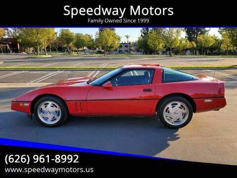 1989 Chevrolet Corvette for sale at Speedway Motors in Glendora CA