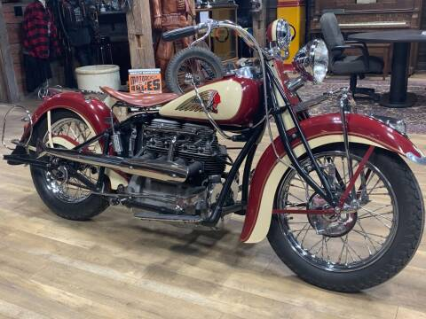 1938 Indian Four cylinder for sale at Pro Auto Sales and Service in Ortonville MN