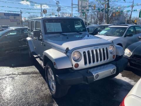 2009 Jeep Wrangler Unlimited for sale at Park Avenue Auto Lot Inc in Linden NJ