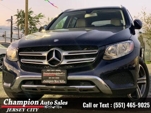 2017 Mercedes-Benz GLC for sale at CHAMPION AUTO SALES OF JERSEY CITY in Jersey City NJ
