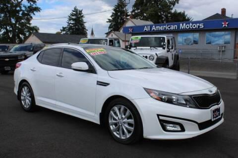 2015 Kia Optima for sale at All American Motors in Tacoma WA
