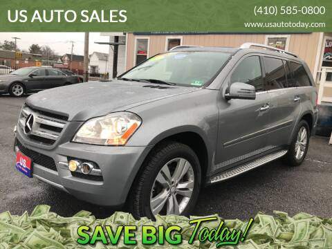 2011 Mercedes-Benz GL-Class for sale at US AUTO SALES in Baltimore MD