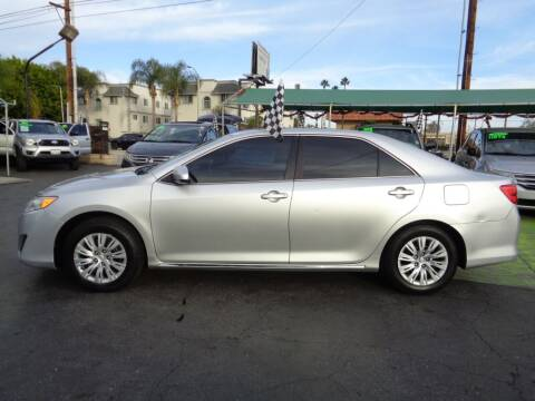 2012 Toyota Camry for sale at Pauls Auto in Whittier CA