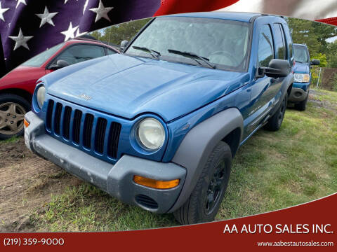 2003 Jeep Liberty for sale at AA Auto Sales Inc. in Gary IN