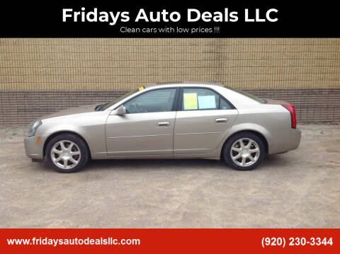 2004 Cadillac CTS for sale at Fridays Auto Deals LLC in Oshkosh WI