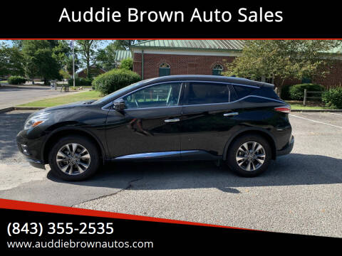 2018 Nissan Murano for sale at Auddie Brown Auto Sales in Kingstree SC