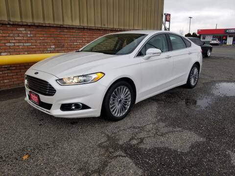 2016 Ford Fusion for sale at Harding Motor Company in Kennewick WA