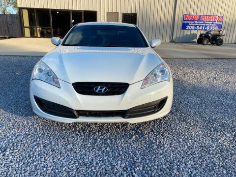 2010 Hyundai Genesis Coupe for sale at Alpha Automotive in Odenville AL
