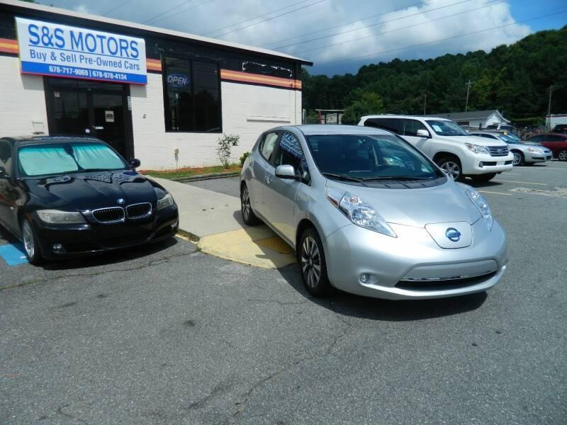2015 Nissan LEAF for sale at S & S Motors in Marietta GA