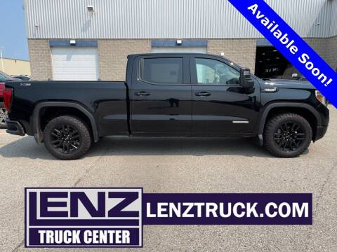 2021 GMC Sierra 1500 for sale at LENZ TRUCK CENTER in Fond Du Lac WI