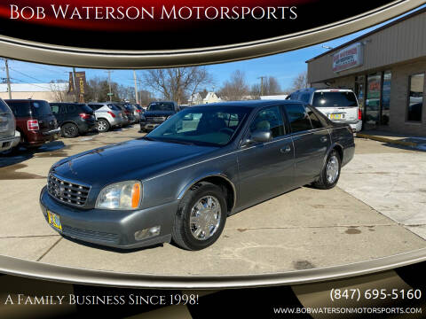 2004 Cadillac DeVille for sale at Bob Waterson Motorsports in South Elgin IL