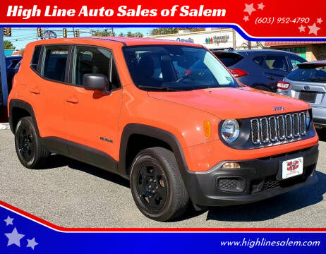 2017 Jeep Renegade for sale at High Line Auto Sales of Salem in Salem NH