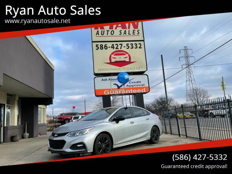 2018 Chevrolet Cruze for sale at Ryan Auto Sales in Warren MI